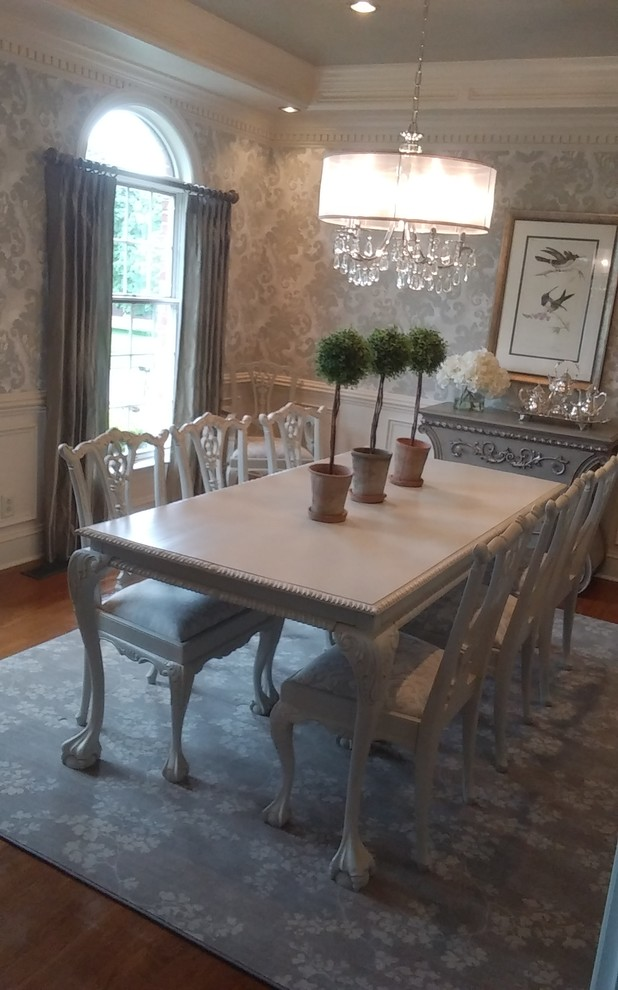 French Southern style dining room