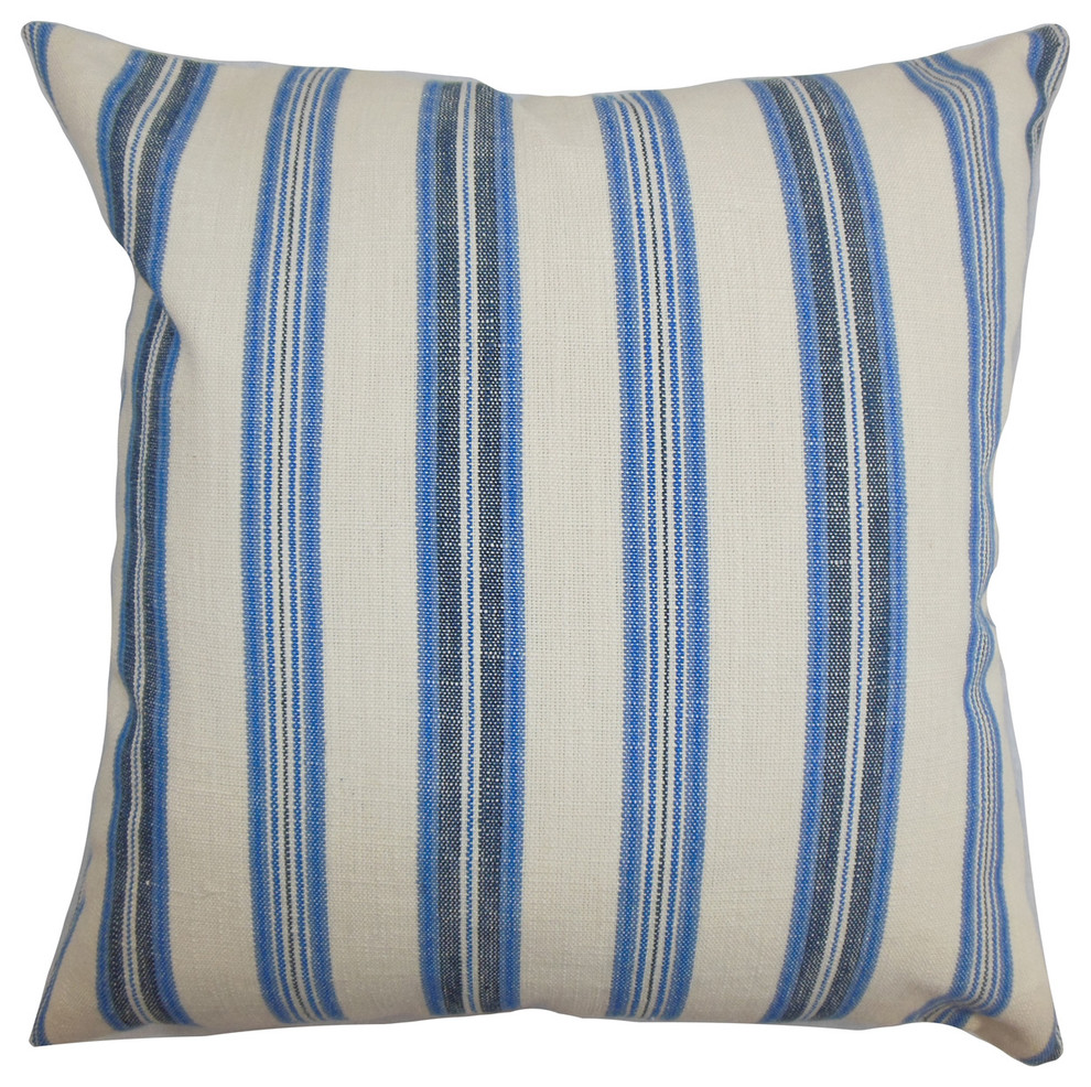 The Pillow Collection Uorsin Striped Bedding Sham Mojito King//20 x 36