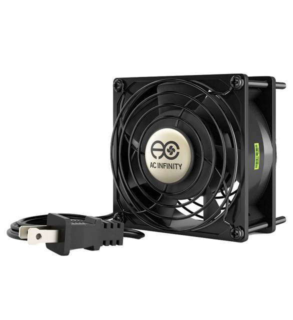 Ac Infinity Axial 9238, Muffin 115v Ac Cooling Fan, 92 X 92 X 38 Mm.