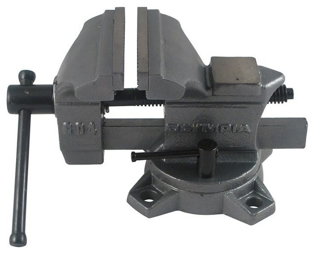 """Olympia Tools 38-604 Workshop Bench Vise, 4"""" - Contemporary - Hand Tools And Tool Sets - by Life ..."""
