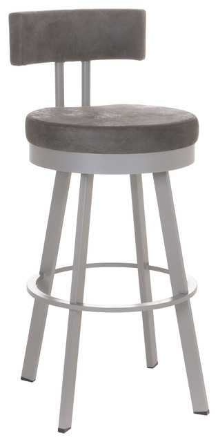 Amisco Barry Swivel Stool 41445 26  Counter Height transitional-bar-stools  sc 1 st  Houzz & Amisco Barry Swivel Stool 41445 - Transitional - Bar Stools And ... islam-shia.org
