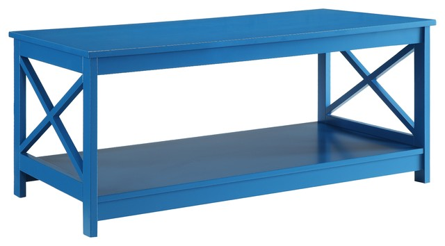 Oxford Coffee Table Coffee Tables By Convenience Concepts