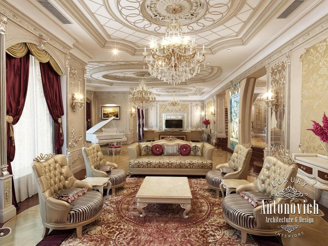 Villa design in saudi arabia other by luxury antonovich design ae for Interieur maison de luxe