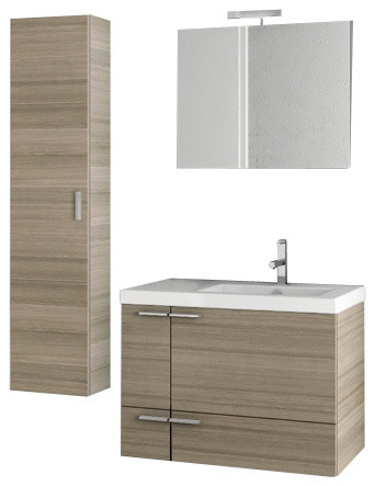 mirror designs for bathrooms 31 inch larch canapa bathroom vanity set modern 19476