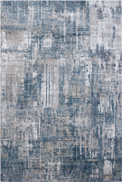 Onyx 6878 590 Area Rug Blue And Gray