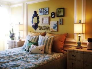 Anthropologie inspired loft eclectic bedroom