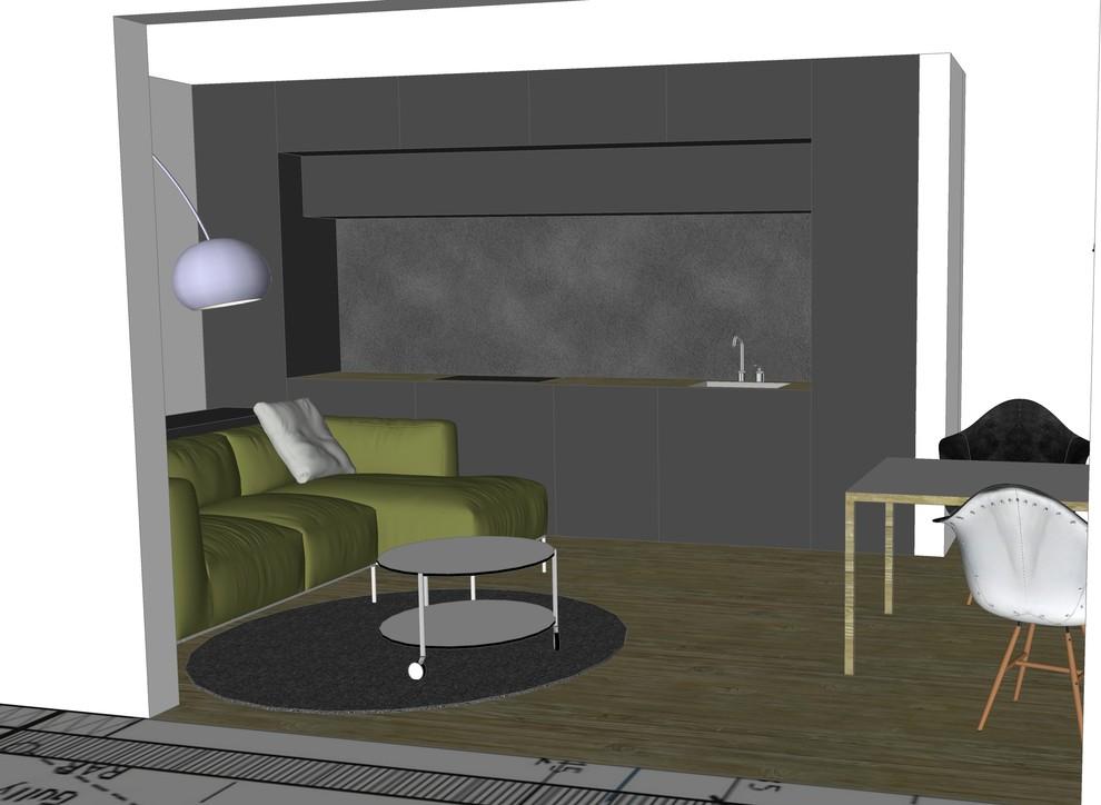 Houzz Wohnküche Bild II