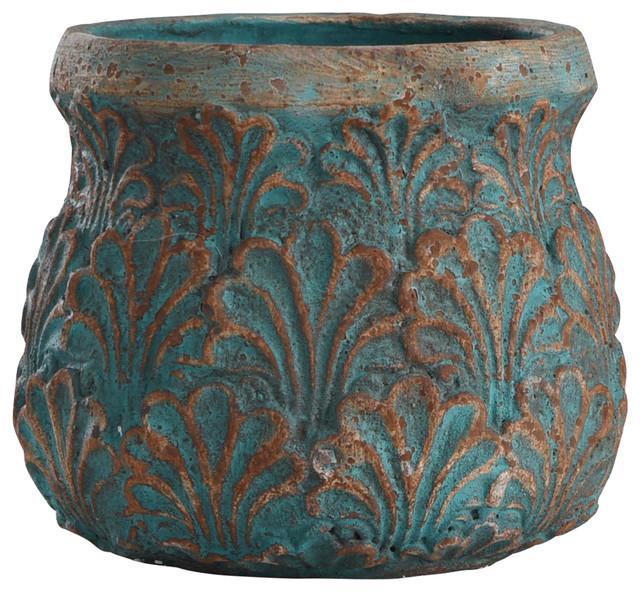 "Tenbury Turquoise 10"" Concrete"