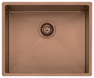 Spectra Single Bowl Copper Sink