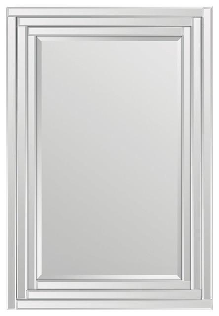 Renwil Brynn Mirror, Step Pattern Frame