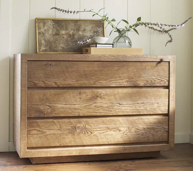 Modern 3 drawer dresser dark eclectic furniture by for Modern eclectic furniture