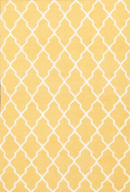 rugsville tuscan trellis gold wool rug 8x10 arearugs