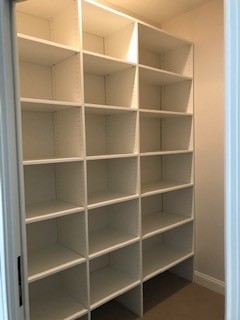 Master Closets, storage room and other walk-in closets on Lake Bowen, SC