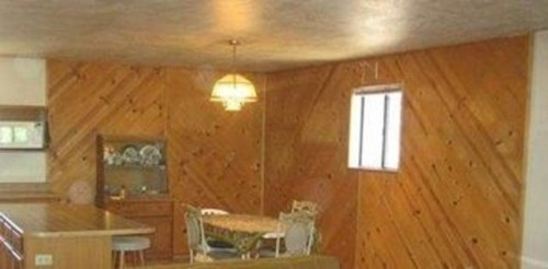 What To Do With The Wood Paneling