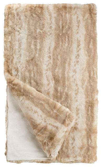 Couture Collection Faux Fur Throw - Contemporary - Throws - by Donna  Salyers Fabulous-Furs 8a22b4eb7