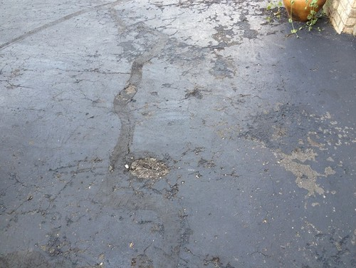 driveway crack sealer that you heat