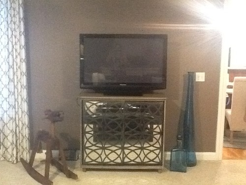 Famous Need larger TV stand in family room WP66
