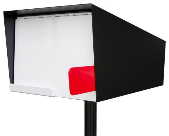 Mid Century Modern Mailbox Modern Mailbox White
