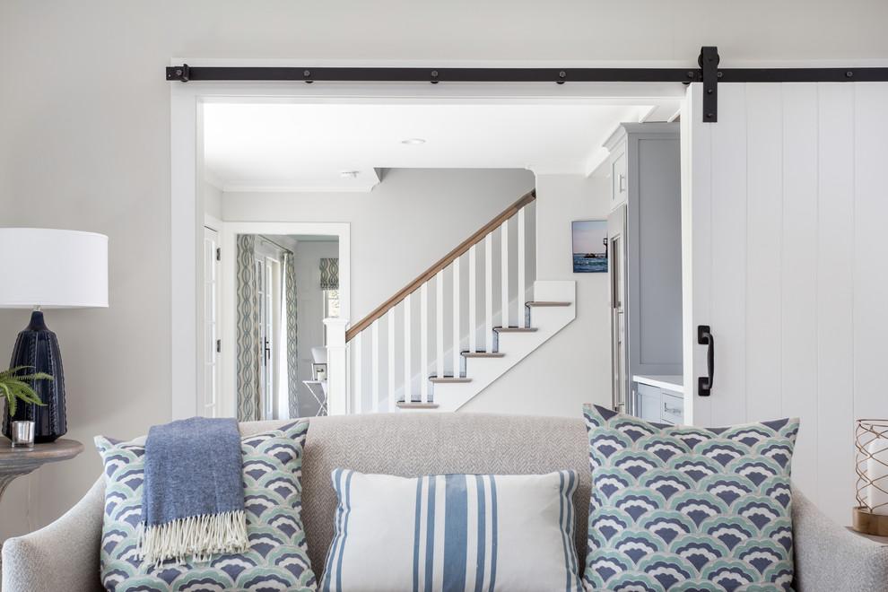 Home design - coastal home design idea in Boston