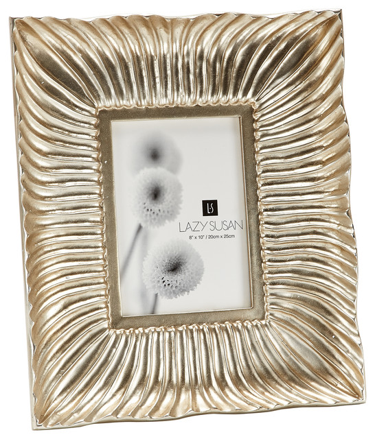 silver shell wave wall frame 8 x 10 contemporary picture frames