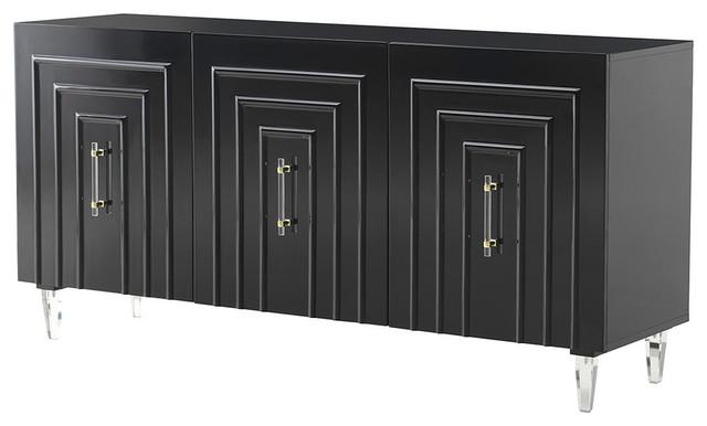 Door Cabinet Glam Sideboard Tv Stand