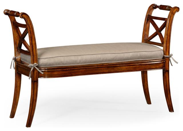 Incredible Regency Style Window Bench Machost Co Dining Chair Design Ideas Machostcouk