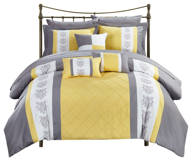 Don't Miss This Deal: Clayton 8 Piece Comforter Set Chic ...