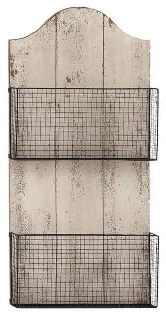 Mesh Wall Basket Plaque