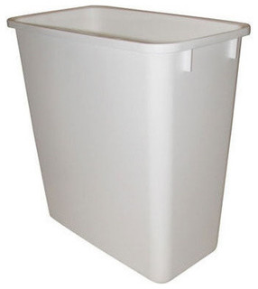 Rev-A-Shelf RV-20-6 20 Qt. Replacement Waste Bin - White - Contemporary - Trash Cans - by ...