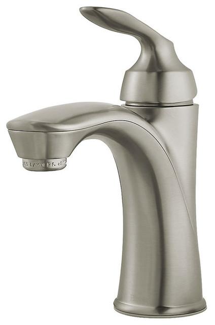 Moen Genta Chrome 1 Handle Bathroom Faucet: Pfister LG42-CB1K Brushed Nickel Avalon Single Control