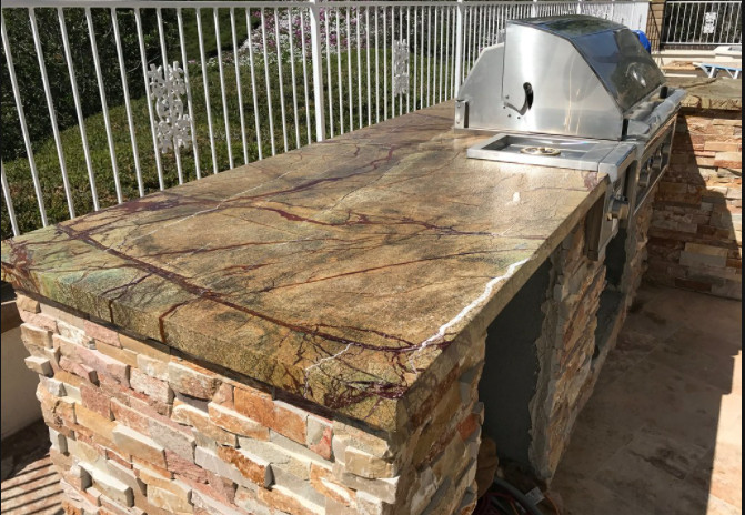 Mission Viejo Outdoor Marble BBQ