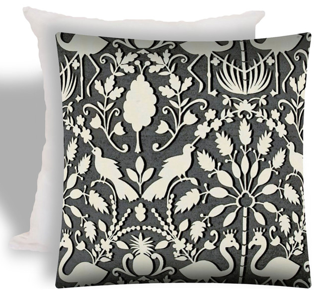 Paradise Indoor Outdoor Zippered Pillow Covers Set Of 2 Tropical Cushions And Pillows By Joita