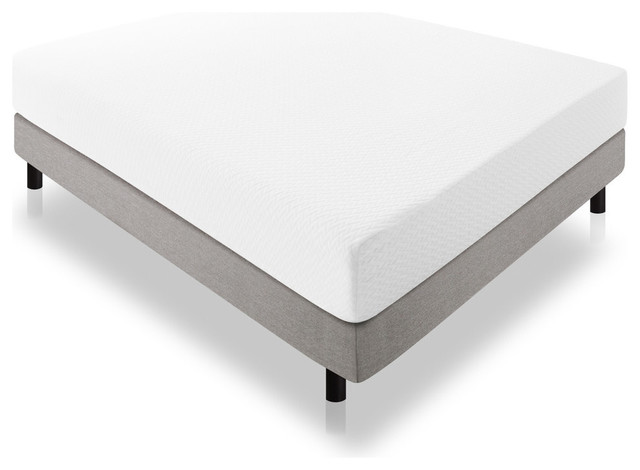 "Lucid 10"" Latex Foam Mattress 25 Year Warranty"
