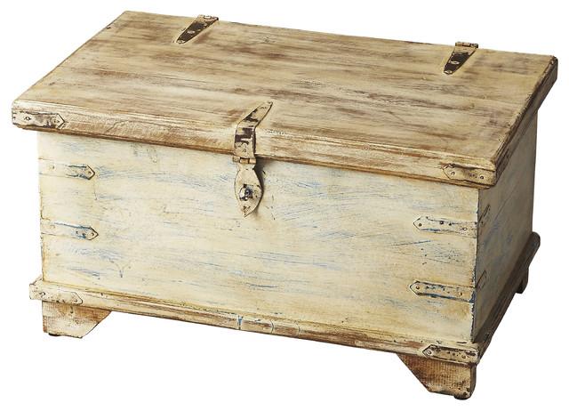 Butler Hancock Solid Wood Storage Box Farmhouse Decorative Boxes