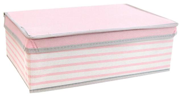 Nonwovens Storage Box, Pink.