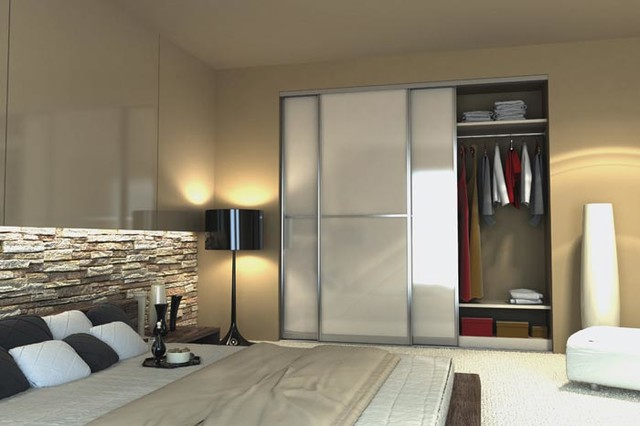 Bedroom Fitted Wardrobes Modern London by Supreme Bedroom
