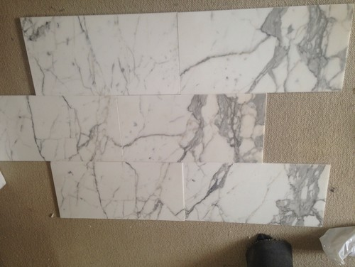 Marble Tile Lay Out?