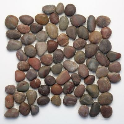 Is installation more difficult for pebble tile than other types of ...