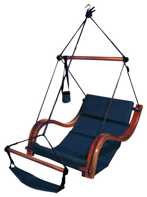Lana Hanging Chair, Blue.