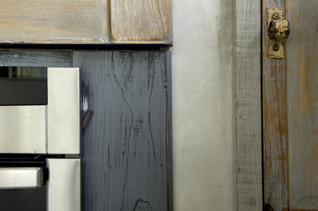 Cucina Legno di recupero e muratura - Shabby-Chic Style - Roma - di ...