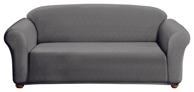 Milan Sofa Slip Cover, Grey