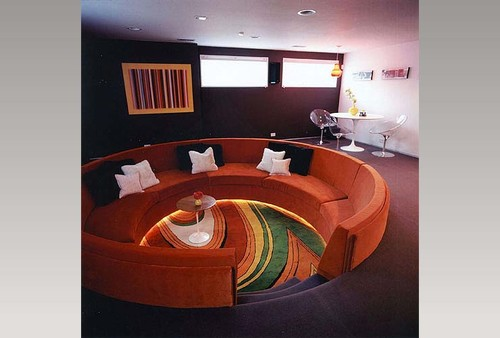 sectional semi circular sofa - Exterior and Interior Design