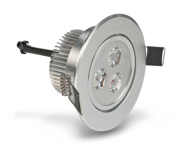 3w Dimmable Led Recessed Light Warm White
