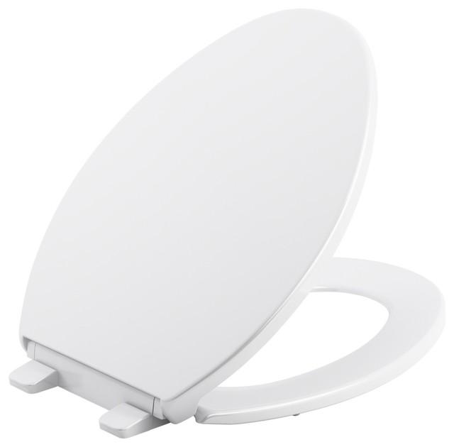 Fantastic Kohler Brevia Plastic Quiet Close Elongated Toilet Seat White Pdpeps Interior Chair Design Pdpepsorg