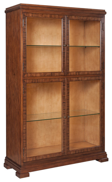Dolph Curio - Transitional - China Cabinets And Hutches ...