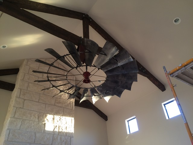 Windmill ceiling fans of texas hum home review 8 windmill ceiling fan reproduction vintage finish rustic aloadofball Image collections