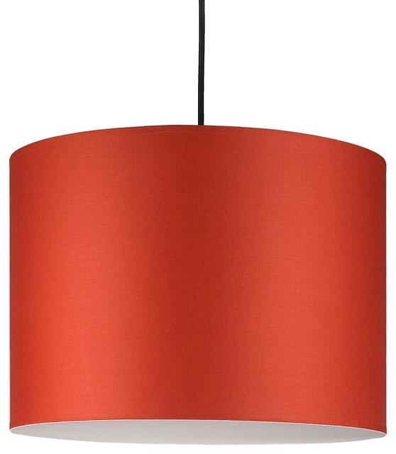 Meridian Large Pendant Light In Burnish Chintz Shade