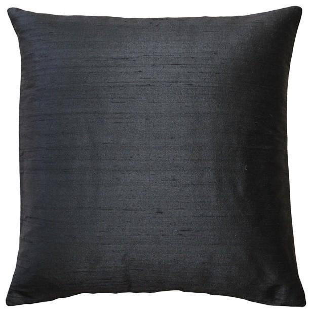 Pillow Decor Sankara Silk Throw Pillows 40x40 Transitional Impressive Pillow Decor Ltd