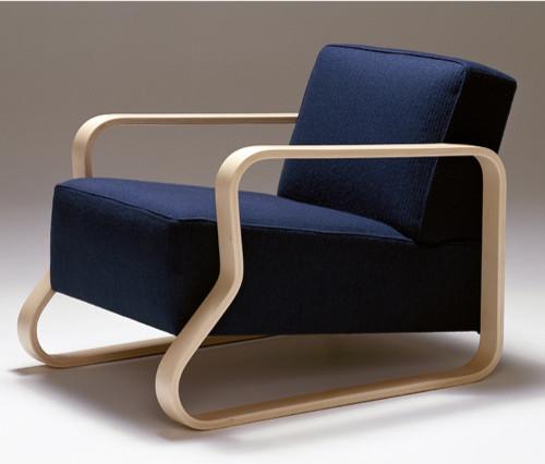 Artek Alvar Aalto 44 Armchair
