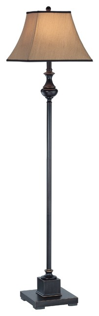Bandele 1-Light Floor Lamps, Dark Bronze.
